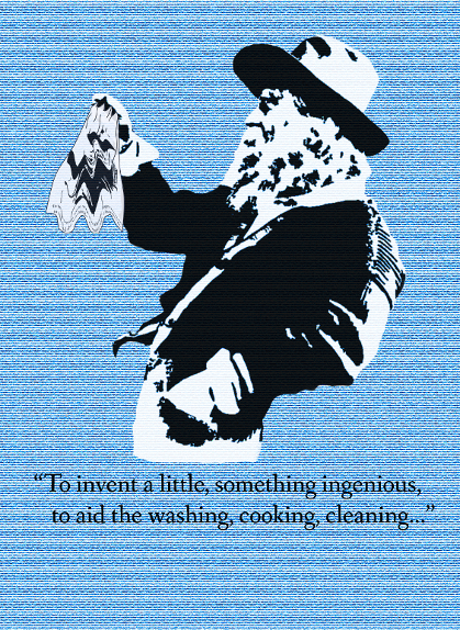 Walt Whitman tea towel reward