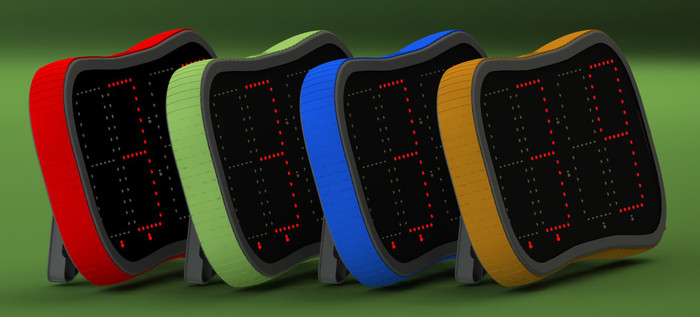 Choose from Red, Kickstarter Green, Blue, and Orange.