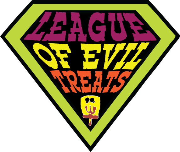 The League of Evil Treats logo