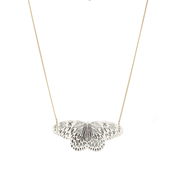Kamilla Thorsen's 'Butterlfy' pendant from her 'Dynasty' range on offer for £35