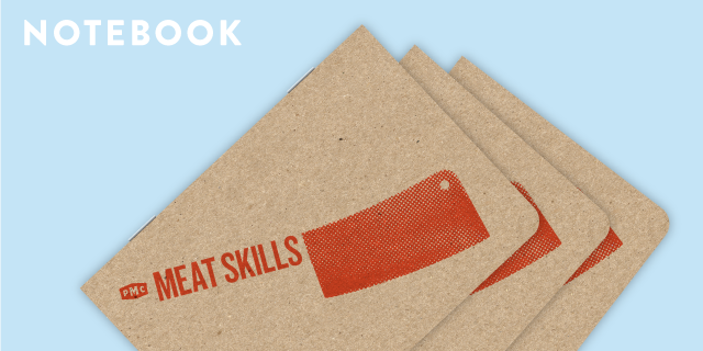 "A PMC ""Meat Skills"" Scout Book could be yours: $200 Reward Tier"