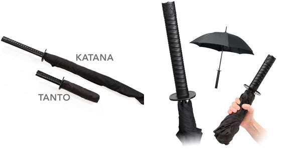 Samura Sword Umbrella Set