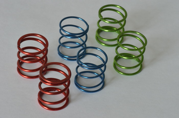 3 sets of springs (soft, medium and hard) are included to customize feel and performance