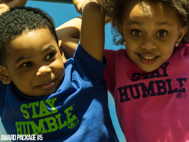 [$25 or More] Kids Stay Humble Tees: You know we couldn't leave out the little ones! ...these are ridiculously cute for some reason. (Available in unisex kid sizes 2, 4, and 6)