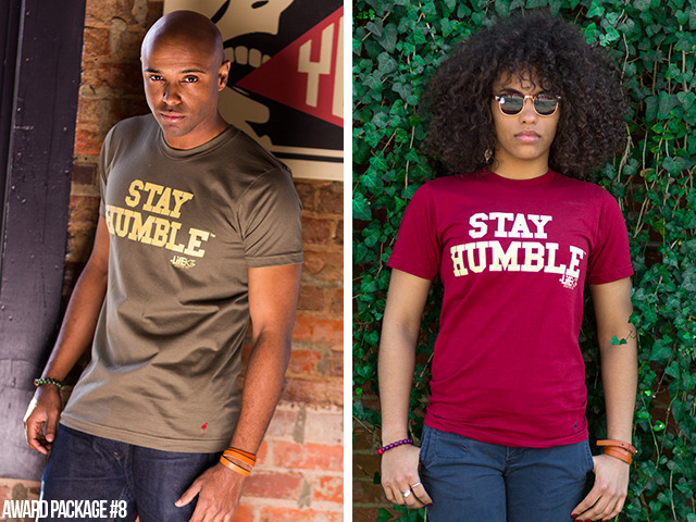 [$35 or More] Limited Edition Stay Humble Tees: History has proven that society will not truly change until people's hearts and minds also change. By all means, Stay Humble. (Available in unisex sizes XXS, XS, S, M, L, XL)