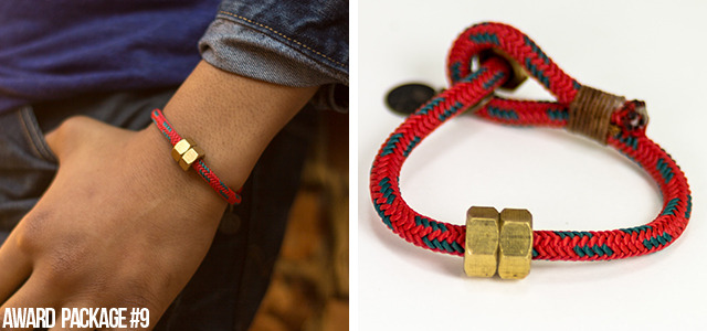 [$35 or More] G.O.O.D. Thoughts Bracelet: Handmade with durable paracord rope & industrial hex nuts. (Available in Small: 7 1/2 inches (suggested for women) Medium: 8 1/4 inches (most popular) Large: 9 inches) *Custom sizing available for larger wrists*