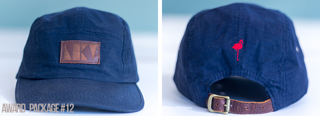 [$45 or More] LKology 5-Panel Cap: A classic Navy 5-pannel with genuine leather.  Made right here in Durham, NC. ..Welcome to LKology 101. (One size fits most)