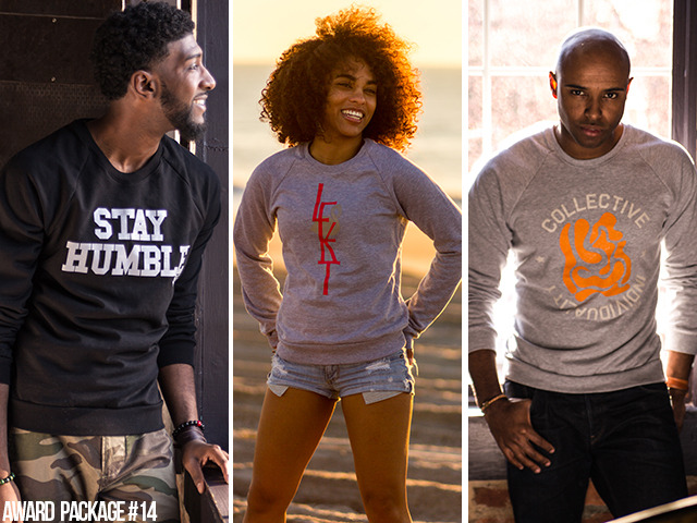 [$55 or More] Stay Humble | Saint Flam | Collective Indy Crewnecks: A Classic LK crewneck is perfect for those cool summer nights.  (Available in unisex sizes XXS, XS, S, M, L, XL)