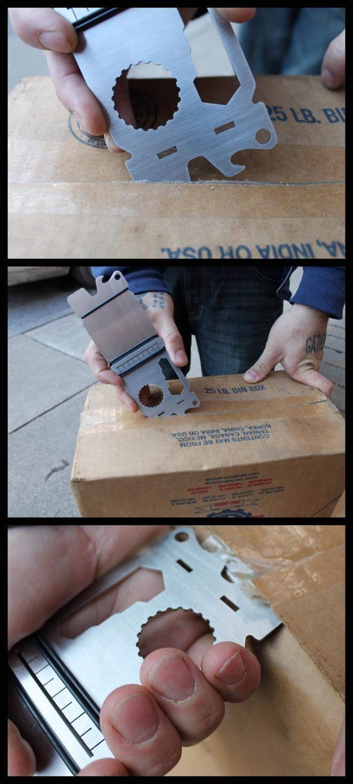 A convenient box opener!