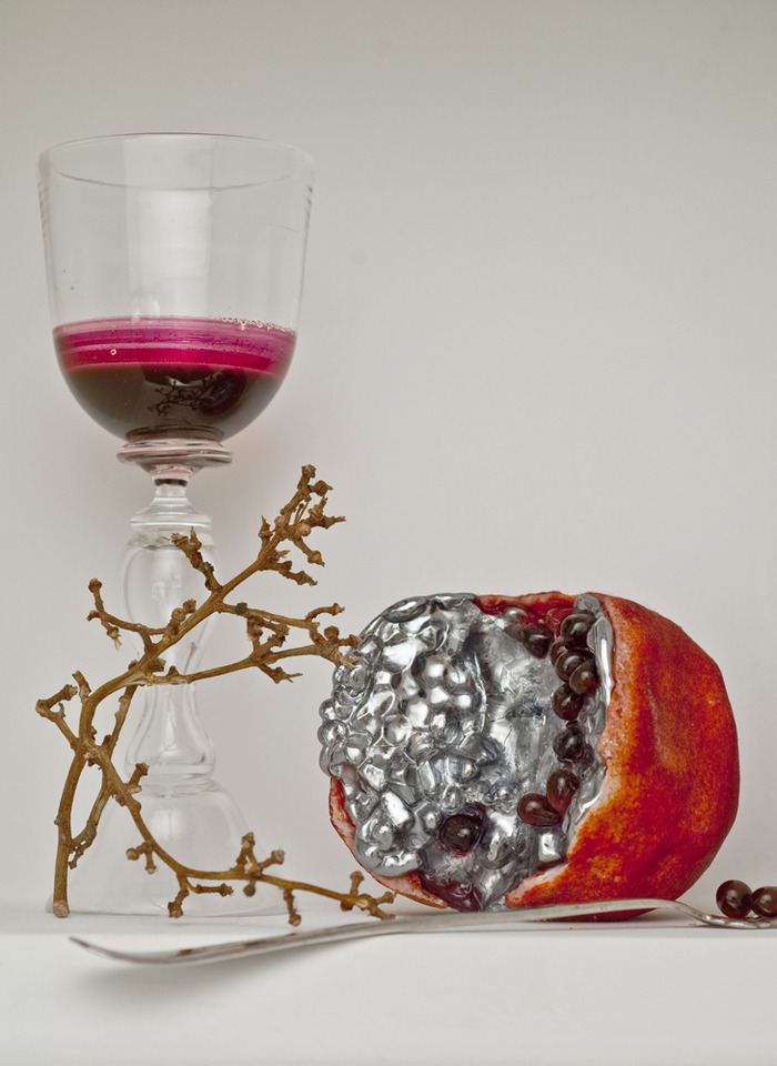 'Pomegranate', 2010, by Joanna Manousis