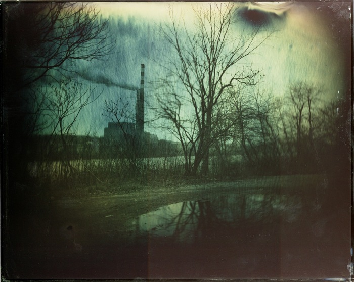 "Limited edition 16x20"" mounted print by Jason Snyder of Pittsburgh Tintype Studio."