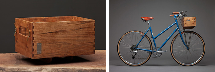 RECLAIMED WOODEN BIKE BOX BY RDD