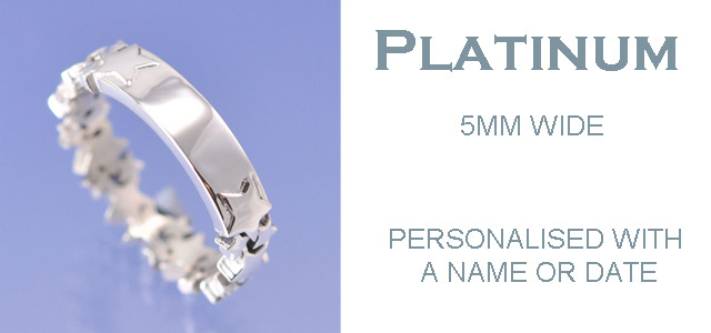 Platinum - Personalised Ring