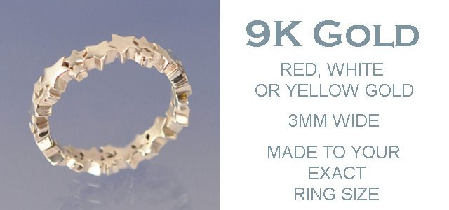 9k GOLD - 3mm Ring