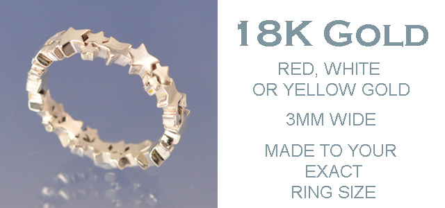 18k GOLD 3mm Ring