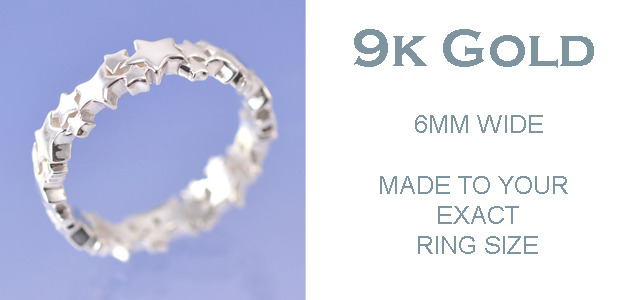 9k GOLD - 6mm Ring
