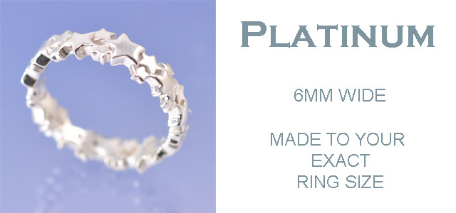 Platinum - 6mm Ring