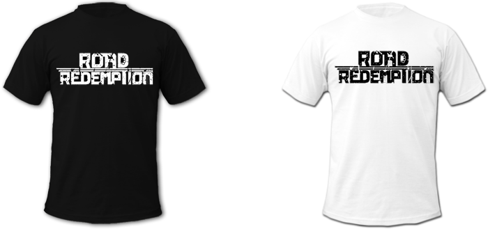 Road Redemption Shirt Black And White