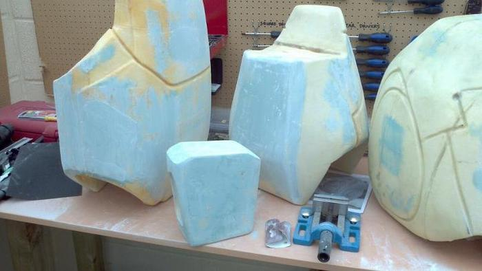 more plugs ready for molding