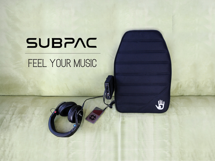 SubPac audio technology