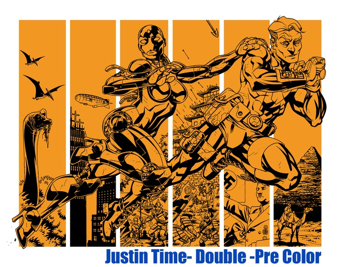 JUSTIN TIME b-side Story ART