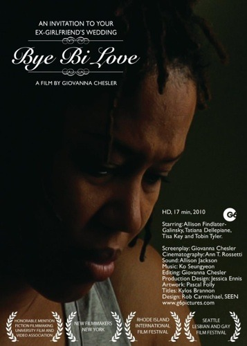 REWARD! signed DVD of Bye Bi Love by Giovanna Chesler