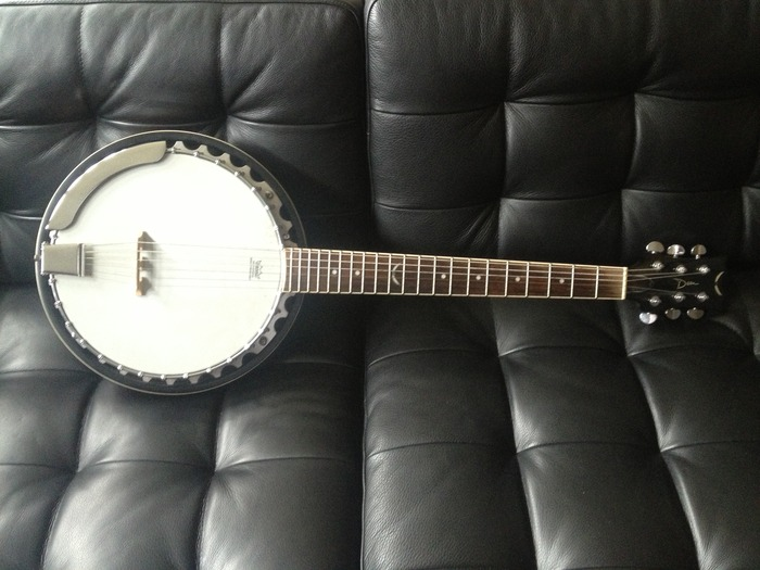 Here's the banjo I used on my Christmas record and Phil's Heaven&Earth record.  Sound guys love this thing :).  Of course, Phil and I will personally autograph it to you once it's yours.