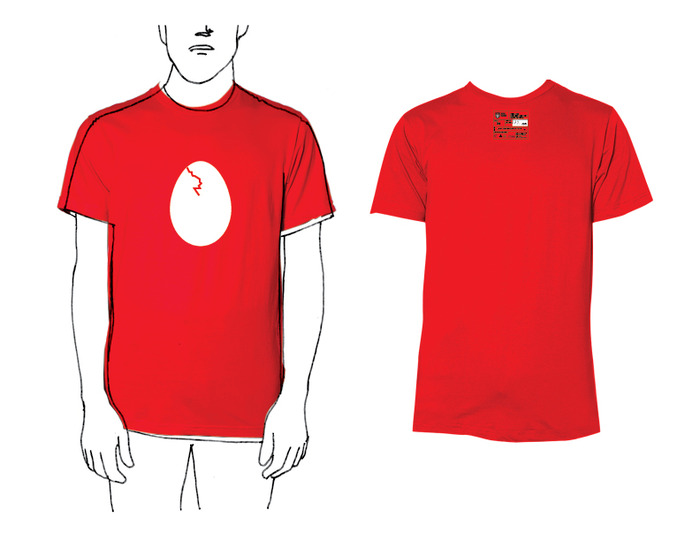 The newest Red Hand t-shirt available during the Kickstarter campaign