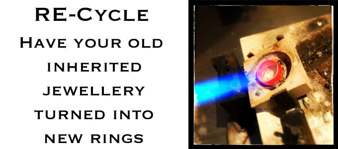 Re-cycle your precious rings.