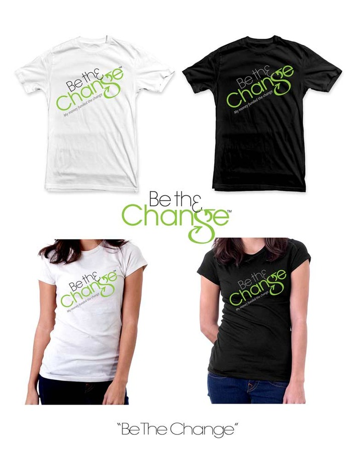 "***KICKSTARTER EXCLUSIVE*** This is the regular logo tee w/ a tagline that reads, ""My money funded the change."" This version of the shirt will NEVER be reprinted outside of this campaign."