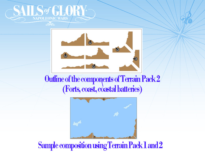 Concept drawings of Terrain Pack #2