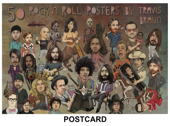 POSTCARD - A HAND WRITTEN THANK YOU POSTCARD - EXCLUSIVE TO KICKSTARTER