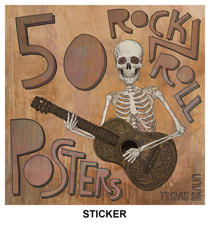 STICKER - 4 X 4 INCHES - EXCLUSIVE TO KICKSTARTER