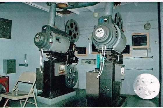 Strong X-16 projectors, from the 1940's,still showing movies today!