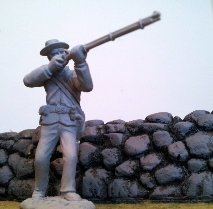 Union Infantry, Pose #3.