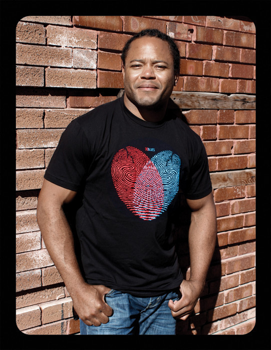 "3DBLUES Original ""CROSS MY HEART"" T-shirt (Unisex S,M,L,XL,XXL available)"