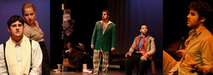 Cast of Last Days of Judas Iscariot, U of M Basement Arts, 2008