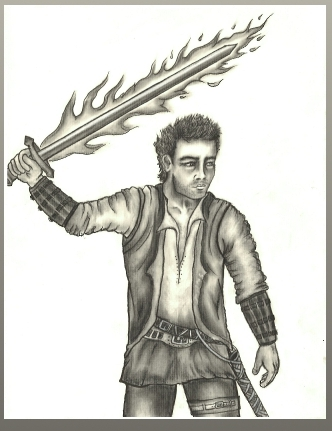 (Low Res Charcoal of Kaos Kreegan)