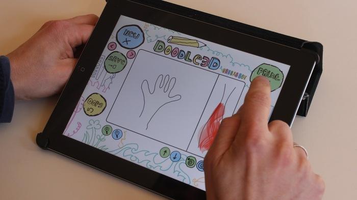 Doodle3D on tablet