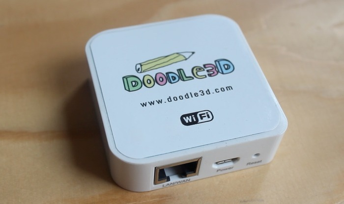 Prototype of the Doodle3D WiFi Box