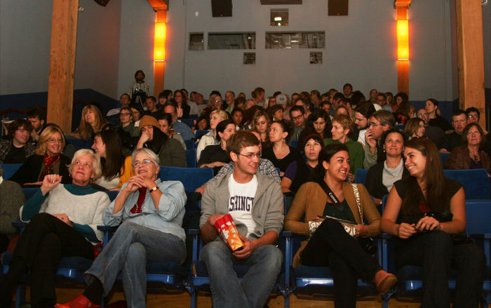 Our smart, passionate audience members come from all walks of life to connect with our cinema programs.
