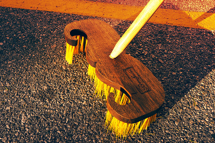 Taking BroomStache to the streets