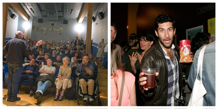 Our members attend exclusive parties and screenings with giants of indie cinema.