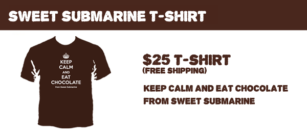 Sweet Submarine original 100% cotton t-shirt.