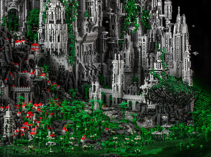contact 1 a 200 000 piece lego masterwork by mike doyle