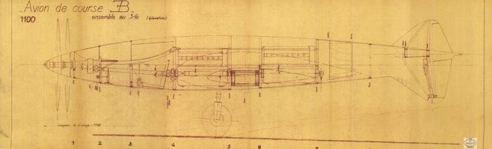 1937 Drawing (Courtesy the Bugatti Trust)