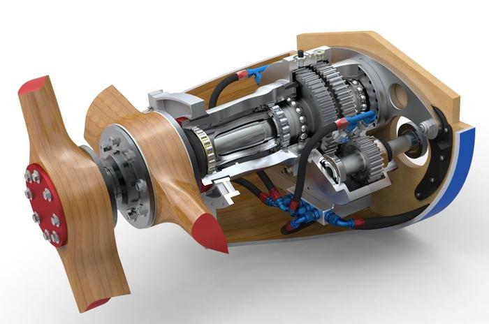 Bugatti 100P Gearbox by John Lawson and Stuart Holden