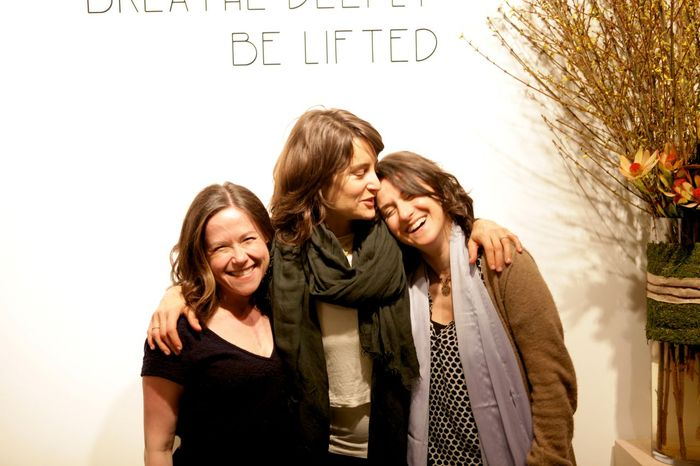 Susannah Ludwig, Elena Brower and Rebecca Dreyfus