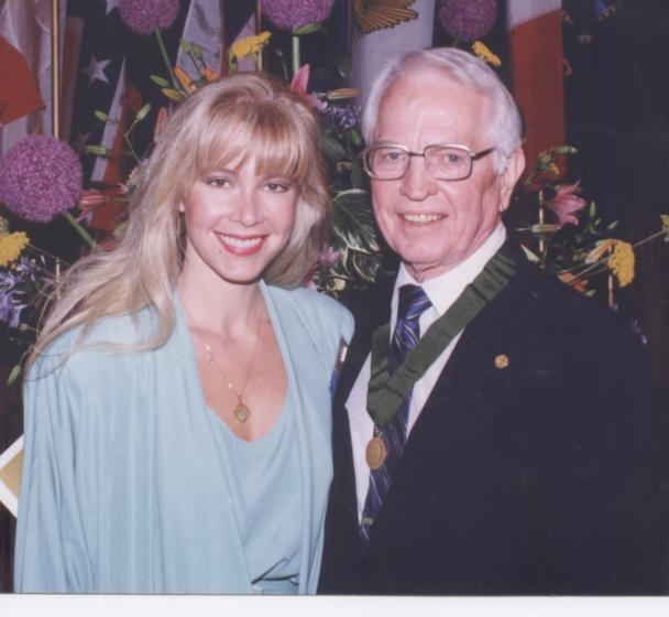 """Christie & Pepper Jenkins - """"The AMA gave my father their Distinguished Service Award in Chicago in 1988, the first anesthesiologist ever even nominated for the honor."""""""