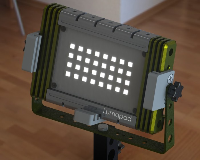 Lumapad Filter Holders will be added if the stretch goal can be reached!